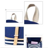 Zainhi casuali leggeri svegli del sacchetto di banco della tela di canapa per il colore rosa delle ragazze