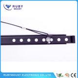 Kaltgewalzte örtlich festgelegte schwarze beste preiswerte 50 Zoll Fernsehapparat-Stahlmontierungen
