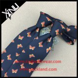 Perfect Knot Handmade Screen Printed Silk Butterfly Tie para homens
