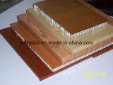 Fachada de parede de favo de mel em alumínio leve