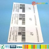 EPC GEN2 860-960MHz 9662スマートな管理のための外国H3 UHF RFIDの札