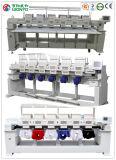 Wonyo 6 Köpfe computerisierte Stickerei-Maschine mit 9/12 Nadeln für das Schutzkappen-T-Shirt und flache Stickerei, die in den China-Preisen gebildet wurden