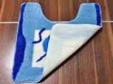 Hohe niedrige Acrylbadezimmer-Bad-Toiletten-büschelige Teppich-Matte
