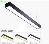 20W Ширина 50см висящих светодиодные линейные лампы
