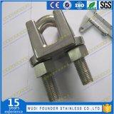 Fijación de acero inoxidable DIN741 Cable Clip