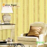Papier peint texturé en PVC lourd conçoit le papier peint