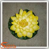 Цветок искусственного лотоса украшения Rockery водоустойчивый пластичный