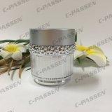 Frasco de creme acrílico de prata luxuoso novo da chegada 30g 50g para o empacotamento do cosmético (PPC-ACJ-123)