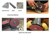 Schijf van de Vezel van het Oxyde van het aluminium de Schurende voor het Malen/het Oppoetsen