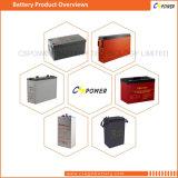 Batterie d'accumulateurs solaire de gel de Cspower 12V 160ah
