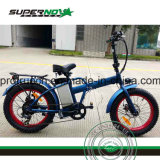Bicicletta elettrica piegante della gomma grassa inferiore