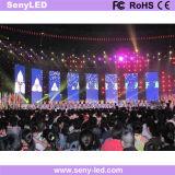 Afficheur LED d'intérieur de performance de l'étape P3.91