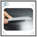 Scheda termica del PVC dello spazio in bianco della stampa di formato della carta di debito