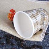 Бумажные стаканчики югурта потрошителя кофеего чашки стены пульсации