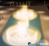 Напольное нот программы танцуя большой фонтан воды