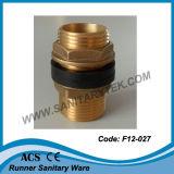 Messing flanschte Verbinder für Becken (F12-026)