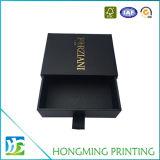 Contenitore su ordinazione di anello dei monili del regalo del cartone del cassetto