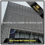 装飾的な外部の現代建物の正面アルミニウムクラッディング