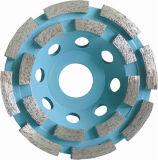 Rotella segmentata della tazza con la base di alluminio