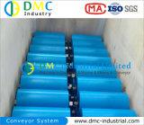 Rodillos Azules del Transportador de las Ruedas Locas del Transportador del HDPE del Sistema de Transportador del Diámetro de 133m M