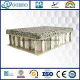 Panneau en pierre en aluminium de nid d'abeilles pour l'étage