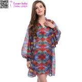 Платье партии Ty1019 пляжа женщин способа шикарное шифоновое