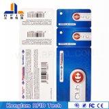 Tarjeta elegante modificada para requisitos particulares del PVC de la laminación termal RFID para el sistema de la patrulla