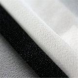 Het elastiek breide Geweven Smeltbare Interlinings voor Laag