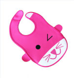 Plástico fuerte cómodo neopreno estampados personalizados babero de bebé Wholesale