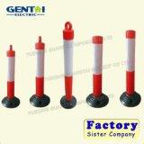 Delineator оптового более дешевого движения пластичный отражательный красный