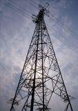 400kv Kraftübertragung-Zeile Gitter-Stahl-Aufsatz
