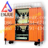 Автоматический Containerized весить черни и кладя в мешки блок для Port машины