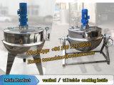 Fabricação na China de chaleira de cozinha de vapor de 500 litros