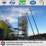 Estructura de acero de gran altura del bastidor de la turbina para centrales eléctricas
