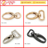 El metal más popular de Gancho giratorio con anillo de diferente forma