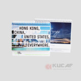 Подгонянный календар годовщины Размера Бумаги Компании