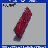 Красный прямоугольный рефлектор трейлера (JG-J-16)