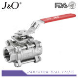 Roestvrij staal 3PCS Heavy Type 1000wog Ball Valve