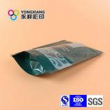 De pie aperitivos, bolsa de plástico con cremallera