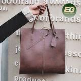 Il disegno unico di rettangolo insacca i grandi sacchetti di Tote dell'OEM dei sacchetti delle signore eleganti Sy8309