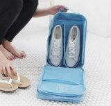 Метка ткани Brown мешка сетки мешка отделкой обуви перемещения монополии моделей взрыва вертикальная