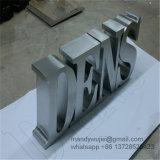 Плоские вырезать буквы из полированной нержавеющей стали