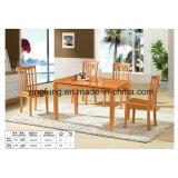 Jogo de madeira da tabela da sala de jantar da cadeira moderna popular da faia