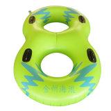 Gelbe Farbe Belüftung-aufblasbares doppeltes Wasser-Ski-Gefäß für Wasser-Park