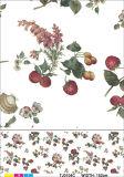 Heet Populair Niet-geweven Steunend pvc Afgedrukt Tafelkleed met het Ontwerp van de Groente en van het Fruit