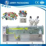 フルオートマチックの水平の液体水化粧品の磨き粉の袋のパッキング機械装置