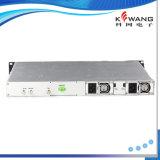 1310 nm Transmisor de fibra óptica con la gestión de red SNMP