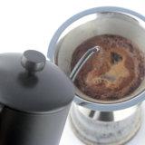 カバーが付いている600mlステンレス鋼のコーヒーやかん