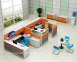 新しいデザインファイリングキャビネット(HF-YZQ790)が付いている現代オフィスワークステーション