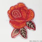 パッチの衣服のアクセサリの卸し売り方法花の刺繍のラインストーンの鉄